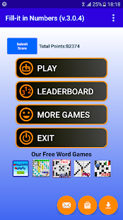 Fill it in Number Puzzle games- screenshot thumbnail
