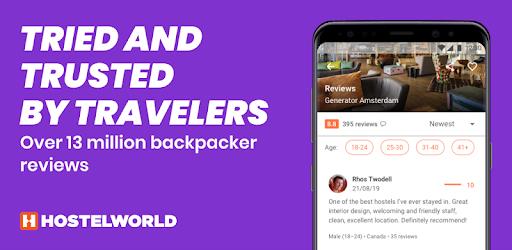 Le migliori app Android per trovare OSTELLI e B&B