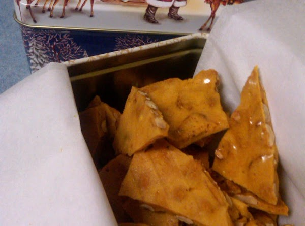 Peanut brittle also makes a great gift!