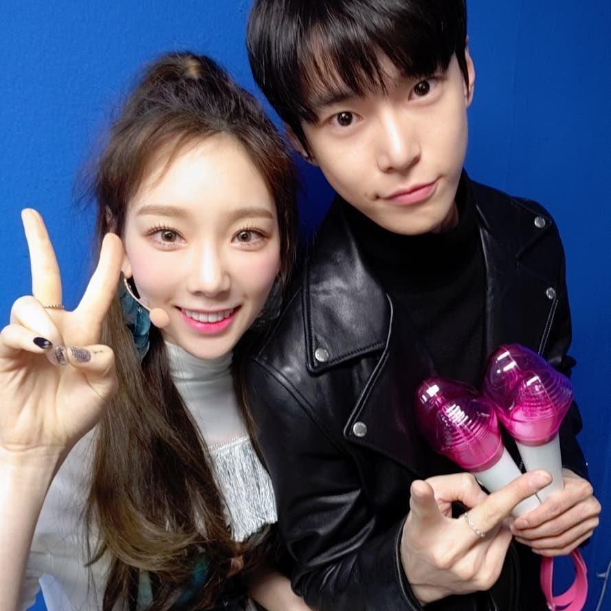 taeyeon doyoung dating rumor 2