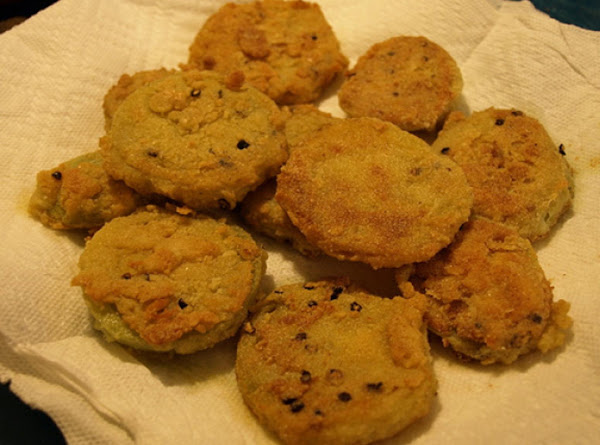 Mom's Fried Cucumbers Recipe