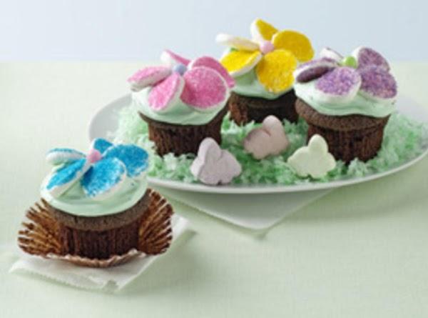 Garden Flower Cupcakes Recipe
