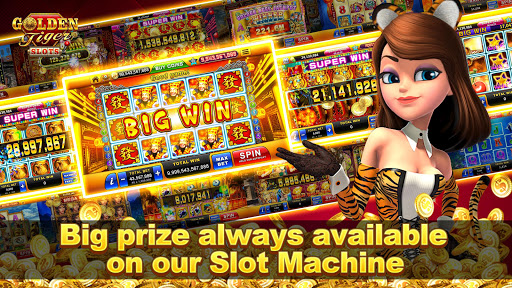 Golden Tiger Slots - Online Casino Game apklade screenshots 1