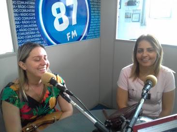 Amanda Souza e Marta Ferrari