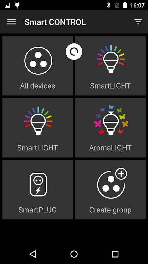 AwoX Smart CONTROL - screenshot