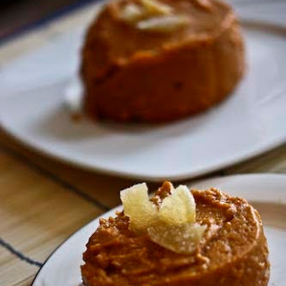 Low Fat Sweet Potato and Ginger Pudding