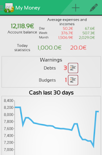 MoneyMe, Expenses manager- screenshot thumbnail