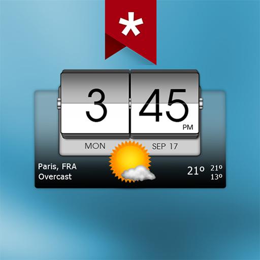 3D Flip Clock & Weather Ad-free APK Cracked Download