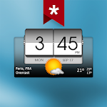 3D Flip Clock & Weather Ad-free 5.21.01 (Paid)