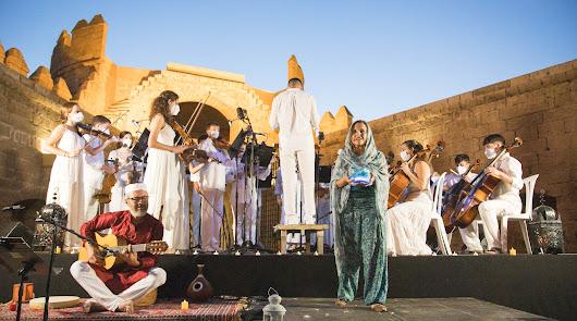 El Ensemble de Cuerda Connecting Musicians y una noche de ensueño en la Alcazaba