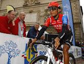 Nairo Quintana is de eerste leider in de Ronde van Asturië