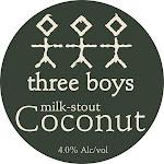 Three Boys Coconut Milk Stout
