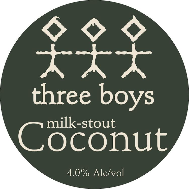 Logo of Three Boys Coconut Milk Stout