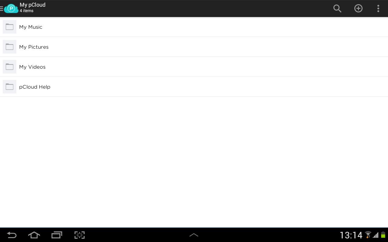 pCloud: Free Cloud Storage - screenshot