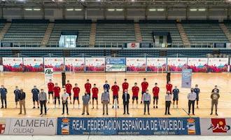 La Selección Española de Voleibol en Almería