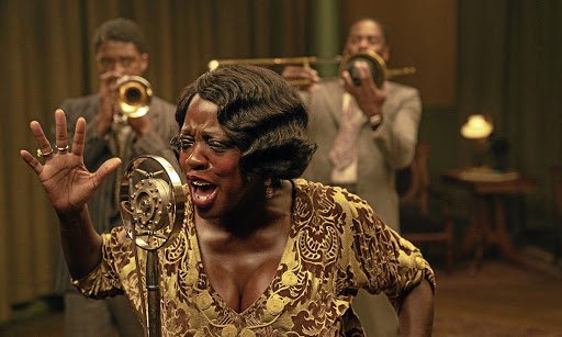 Viola Davis in 'Ma Rainey's Black Bottom', one of several Oscar-nominated films you can stream on Netflix.