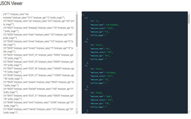 Simple JSON Viewer