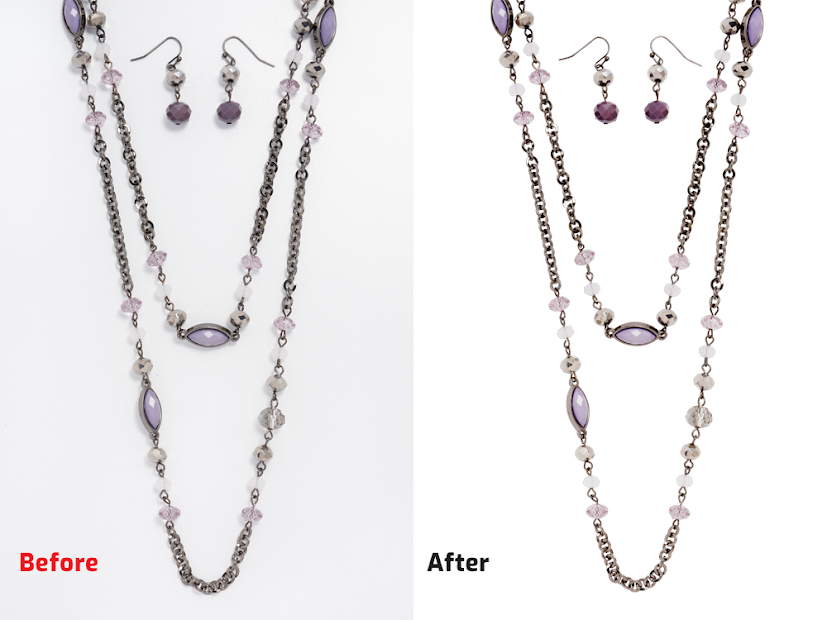 Necklace Retouching