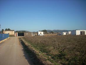 Photo: Deixem el Camí de Colata i, per l'assagador anem cap al sud, buscant el Camí Reial.