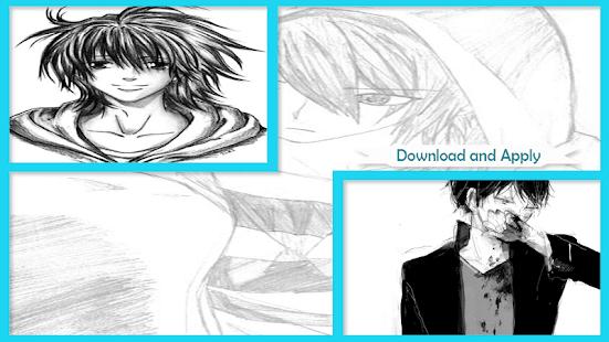 Drawing Anime Boy - náhled