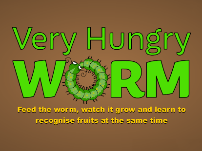 Very Hungry Worm For Kids- screenshot thumbnail