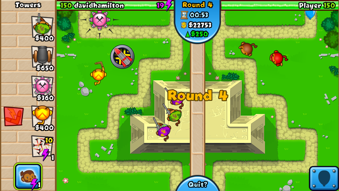 #12. Bloons TD Battles (Android)