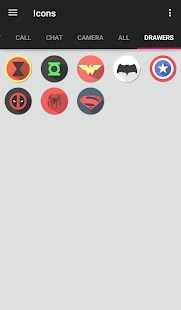 The Superhero-Theme (Donate) Screenshot