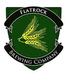 Logo for Flatrock Brewing Company