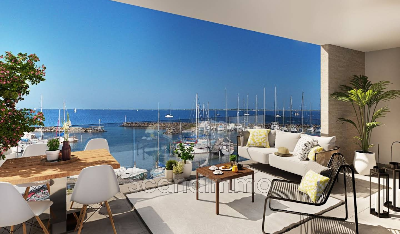Appartement avec terrasse et piscine Marseillan