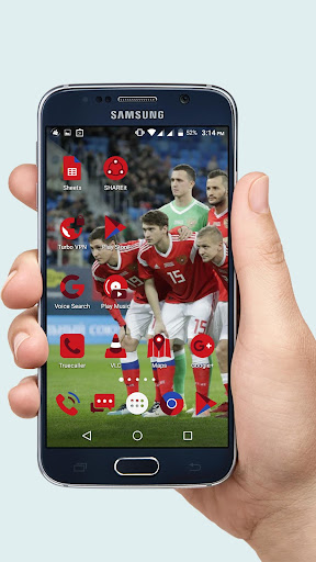 Russia Icon Pack - 2018 World Cup Theme Додатки для Android screenshot