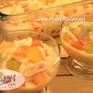 Buko Melon Salad.