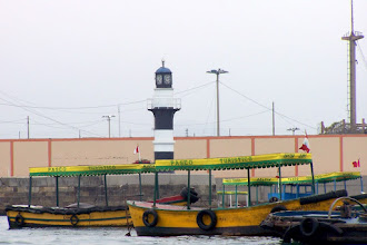 Photo: Torre Reloj (Muelle de Guerra, Callao)