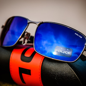POLICE by Manoj Swaminathan - Artistic Objects Clothing & Accessories ( sun glasses, police, glares,  )