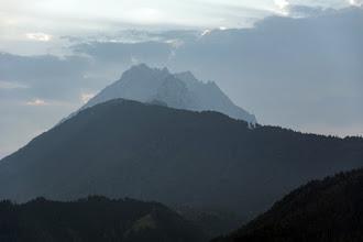 Photo: Karwendel, po lewej Hohe Fürleg 2570 m, z prawej(cofnięty)Großer Bettelwurf 2725 m
