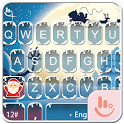 Snowy Christmas Keyboard Theme icon