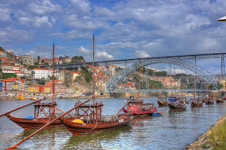 Photo: Porto, Portugal.  Portugal's second largest city after Lisbon.