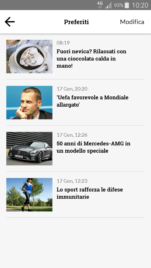 Quotidiano.net- screenshot