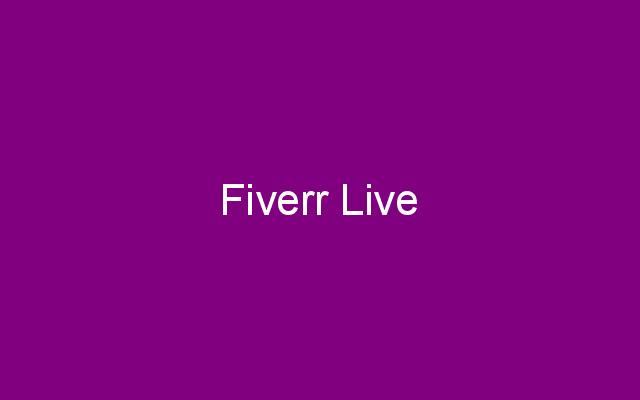 Fiverr Live