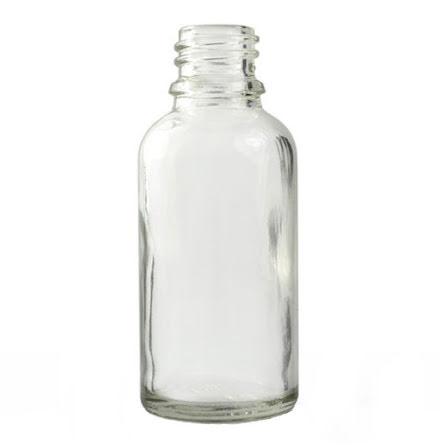 Glasflaska 30 ml - klar