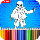 Undertale Coloring Pages Game