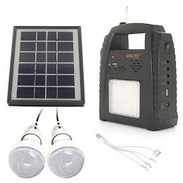Sistem reincarcabil cu panou solar Radio FM USB