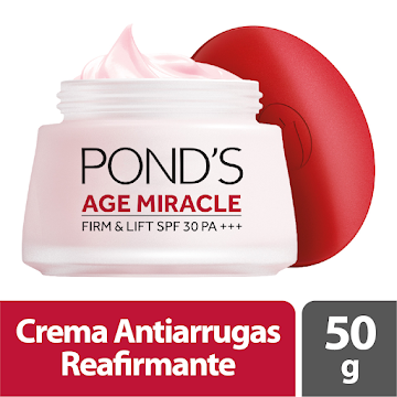 CREMA PONDS AGE MIRACLE   FIRM & LIFT FACIAL DÍA X50G
