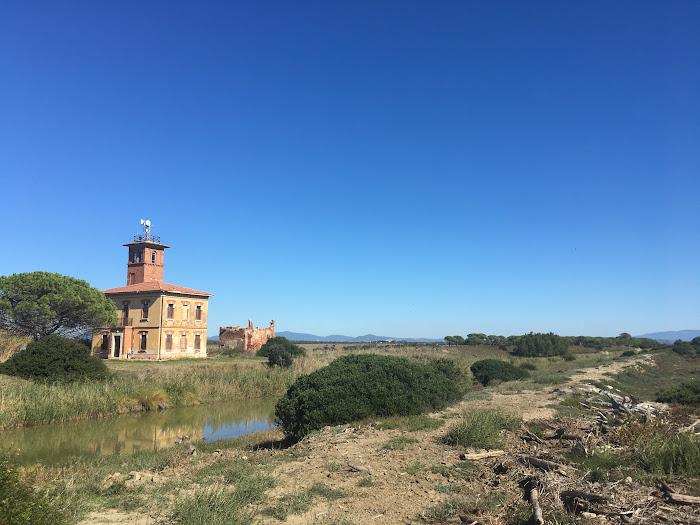 Cassello idraulico di Bocca d'Ombrone, Parco Naturale della Maremma