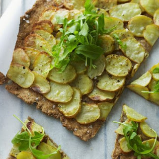 Sliced Potato Flat Bread.