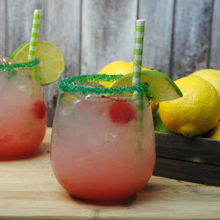 Refreshing Cherry Limeade Lemonade