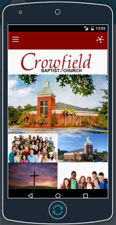 Crowfield Baptist Church- screenshot