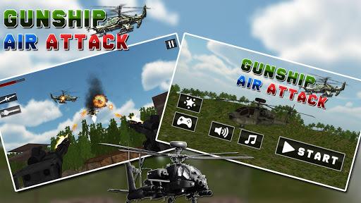 Gunship Helicopter Battle; War