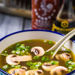 Japanese Mushroom And Green Onion Soup Recipes