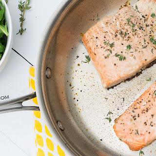Simple 7 Minute Salmon.