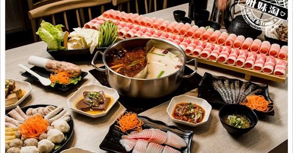 愛食鍋麻辣鴛鴦-浮誇系超長肉龍,引爆你的食肉魂!